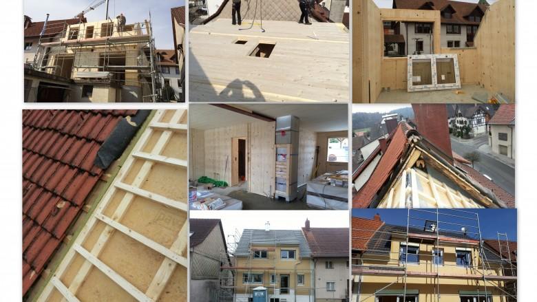 Holzhausmontage-uhl