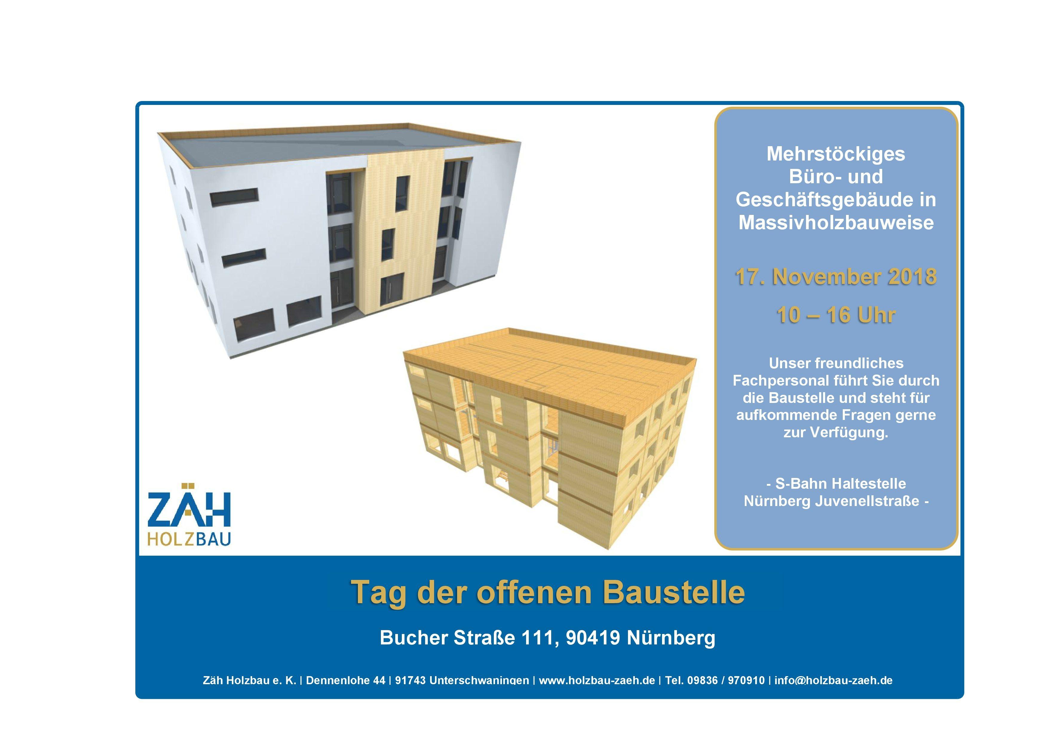 Tag der offenen Baustelle in Nürnberg