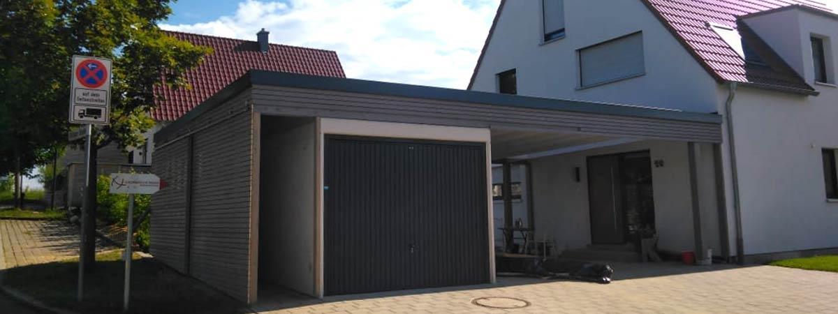 Zäh Massivholzhaus Carport & Garage