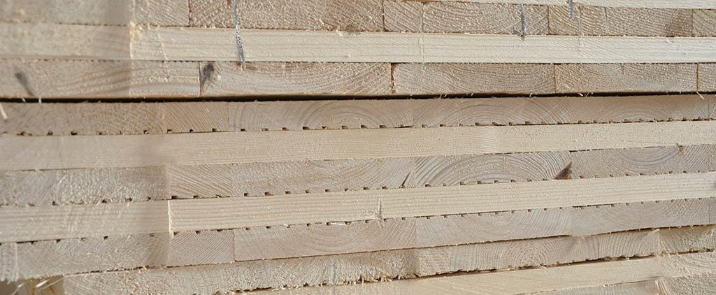 massives Holz